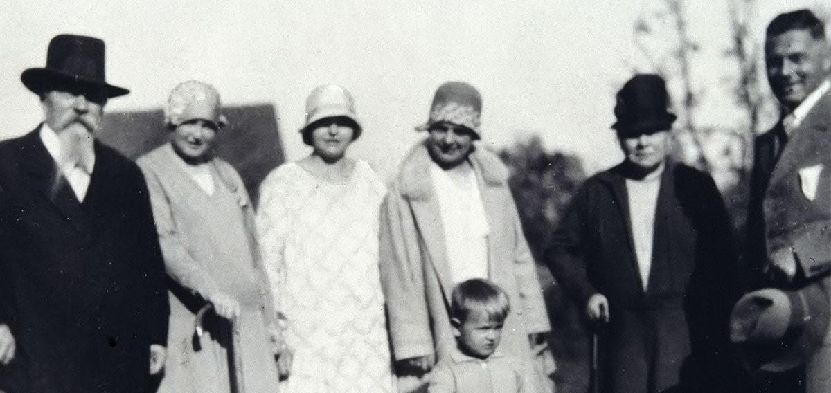 Historie: Familie 1930er